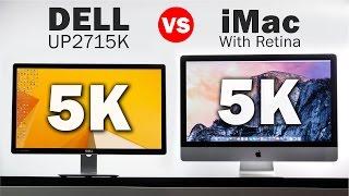 getlinkyoutube.com-5k Dell Monitor Vs 5k iMac - The Highest Resolution Displays in the World!