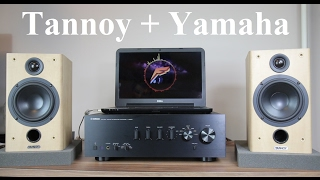 getlinkyoutube.com-Tannoy Fusion 1 speakers + Yamaha A-S500 amplifier + sound test
