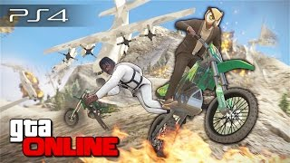 getlinkyoutube.com-GTA 5 Online (PS4) - Град из титанов! #98