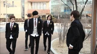 getlinkyoutube.com-Shut Up! Flower Boy Band: Hyun Soo - Yerim... Going Crazy...