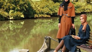 getlinkyoutube.com-Nihan 2015 Kış Kataloğu 14/15 Fall Winter Hijab Fashion Look Book