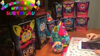 getlinkyoutube.com-Furby Furblings Crystal Series Rainbow - Малышки Ферблинги кристальной серии радуга обзор от Анны