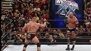 WWE WrestleMania XX 2004   Highlights - HD