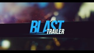 Blast Trailer | After Effects project