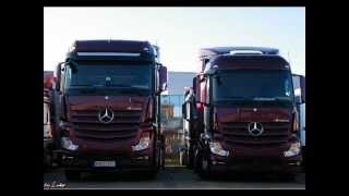 getlinkyoutube.com-MB Actros MP4 .. New Actros