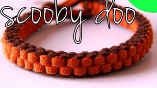 getlinkyoutube.com-Tutorial DIY - Pulsera Nudo Scooby doo