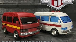 getlinkyoutube.com-TFC Toys Old Soldiers OS-01 03 Ironwill and Medic (Ironhide and Ratchet)
