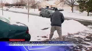 LA TORMENTA INVERNAL DEJA A SU PASO MÁS ACCIDENTES Y REMOLQUES