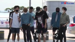 [S영상] 엑소 공항패션 - 인천공항 출국 현장