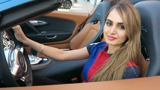 getlinkyoutube.com-Girl Driving a Bugatti in Dubai !!!