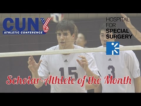 March 2014 CUNYAC/HSS Scholar-Athlete of the Month