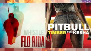 getlinkyoutube.com-Flo Rida ft. Pitbull - Timber Whistle (Mashup) T10MO