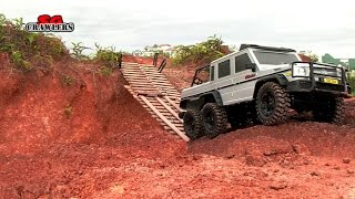 getlinkyoutube.com-12 Scale Trucks Offroad Adventures 6x6 Axial SCX10 Chevrolet K-5 Blazer Ascender - Part 2