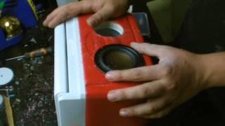 Mini Cooler Boom-Box Build (Start to Finish)