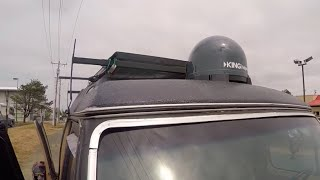 Satellite HD TV 290 Channels On The Road