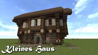 getlinkyoutube.com-Minecraft Tutorial - Kleines Haus bauen #1