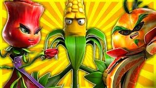 getlinkyoutube.com-ALL PLANT CHARACTERS GAMEPLAY - Plants Vs Zombies Garden Warfare 2 In Detail