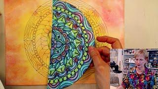 getlinkyoutube.com-Ustream: What To Do With All These Mandalas - HowToGetCreative.com with Barb Owen