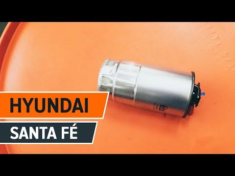 Hoe een brandstoffilter vervangen op een HYUNDAI SANTA FE CM HANDLEIDING   AUTODOC