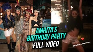 Amrita Arora WILD 2018 Birthday Party FULL VIDEO | Kareena Kapoor, Malaika Arora, Saif Ali Khan