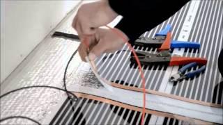 getlinkyoutube.com-Incalzire infrarosu - Metoda de instalare