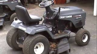 getlinkyoutube.com-Replacing a 6-speed transaxle with a Hydrostatic in a Craftsman tractor