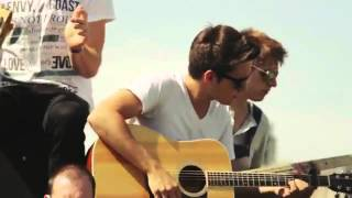 getlinkyoutube.com-Good Time (Owl City & Carly Rae Jepsen) - Cimorelli, Alex Goot, Against The Current, The Role Call