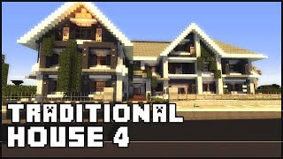 Minecraft - Traditional House 4