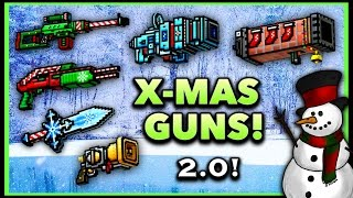 getlinkyoutube.com-Pixel Gun 3D - Christmas Weapon Gameplay 2.0!