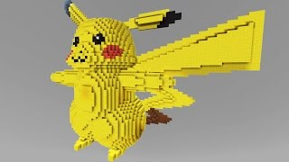 getlinkyoutube.com-Minecraft vs Pokemon go | GIGA PIKACHU!! | (PvZ/Pokego Land)