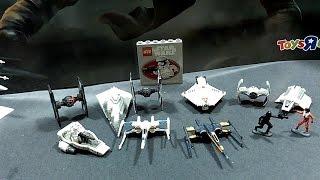 getlinkyoutube.com-Star Wars Micro Machines, Blind Bags, and Titanium X-Wing - Mecha Likes Toys