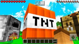 WORKING MINECRAFT LIFESIZE BLOCKS! (TNT, CHEST, BED, CRAFTING TABLE, FURNACE)