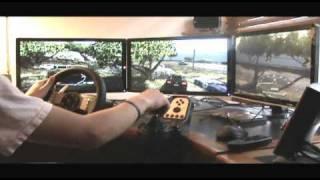getlinkyoutube.com-Test Drive Unlimited 2 - G27 - Eyefinity - 5.1 Surround Sound