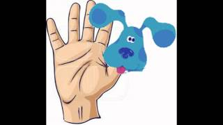 getlinkyoutube.com-Blues Clues Finger Family 2015 Daddy Finger Nursey Rhyme 4K