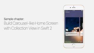 getlinkyoutube.com-UICollectionView with Swift: Build Carousel Like Home Screen - iOS Development Tutorial Pt 1