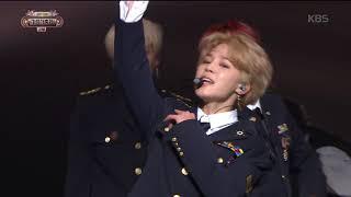 2017 KBS가요대축제 Music Festival - 방탄소년단 - Not Today (Not Today - BTS). 20171229