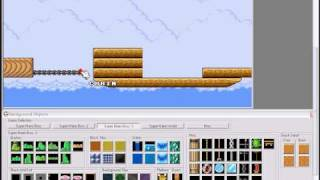 getlinkyoutube.com-SMBX Tutorial: How to make moving platforms, layers, events and an airship in Super Mario Bros X