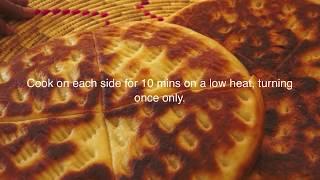 getlinkyoutube.com-Ethiopian Food - Ambasha Bread Recipe - Amharic English Baking - Injera Mulmul Annebabero