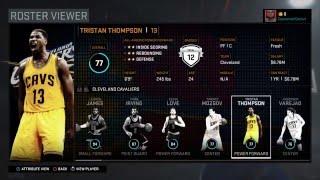 getlinkyoutube.com-NBA 2K16: All NBA Player's Ratings