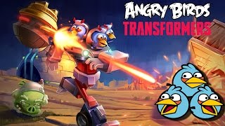 getlinkyoutube.com-Angry Birds Transformers - New Update The Blues Unlocked