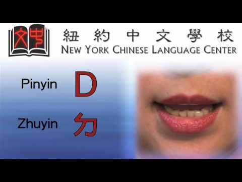 Chinese Pinyin - Consonants