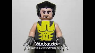 getlinkyoutube.com-New Lego Custom MARVEL Minifigs