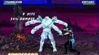 getlinkyoutube.com-[PC] Mortal Kombat Trilogy ~ Chameleon【TAS】