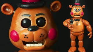 "TOY FREDDY ""TUTORIAL"" ✔POLYMER CLAY ✔COLD PORCELAIN"