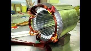 BOBINADO MOTOR ELECTRICO 60 HP
