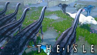 getlinkyoutube.com-The Isle - Therizinosaurus WARS w/ SUBS! - Ep5 (Early Access Gameplay) w/ Mau5craft everynightxRIOT