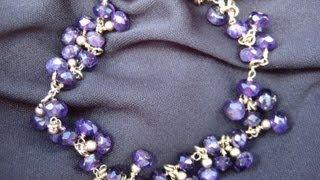 getlinkyoutube.com-Wire Wrap Bracelet