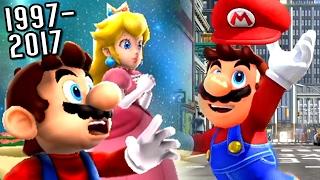 getlinkyoutube.com-Super Mario Evolution of MARIO'S CAP 1997-2017 (Odyssey to N64)