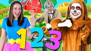 getlinkyoutube.com-This Old Man Nursery Rhyme for Kids | Learn to Count from 1 to 10