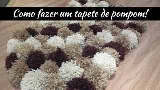 getlinkyoutube.com-Como fazer um tapete de pompom